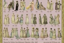 Regency Fashions - Ackermann's Repository / Ackermann's Repository was a popular Regency Publication in England from 1809 - 1828. Ackermann's Repository of Arts, Literature, Commerce, 
