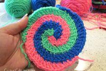 Crochet spiral