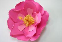 Paper Flores ideas