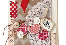 l♡ve & Valentine cards