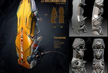 Sci Fi Cryopod 3D Model PBR Texture