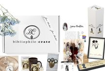 #JaneAusten Themed Literary Subscription Boxes #BibliophileCrate