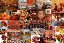 fall carnival wedding