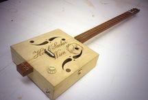 Instrumentation reclaimation / DIY and bespoke music making craft
