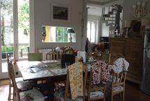 Cucina e salotto open space / Massimo sfruttamento dello spazio e della luce: nessuna porta divide la cucina dal salotto