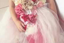 FLOWER GIRL GOWN   DREAMERS GOWN  