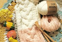 #cozywak / Autumn is for knitting, apples and cats