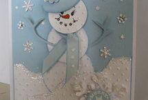 Snowman Cards
