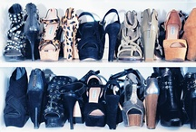 Organized - Shoes / We love shoes.  Having them organized is key so you can easily find them when you need them to create that perfect outfit.