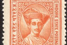 India - Indore Stamps
