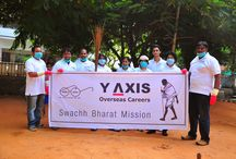 Y-Axis Clean Drive. / Y-Axis Contributes To The Swachh Bharat Mission with a Clean Drive at 4 areas (Secunderabad, Ameerpet, Banjara Hills, Koti) In Hyderabad on 16th Nov, 2014.
