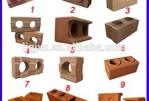 Interlocking brick house
