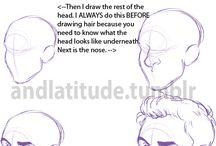 Men face tutorials