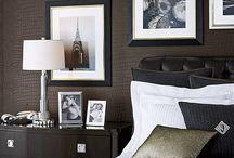 Black • Apis D.A.D ↣ Sweet Dreams Project / Dad's bedroom makeover. Slaapkamer herinrichten. Mannen interieur.