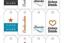 Inspirationen – Sticker und Anhänger