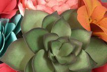 Λουλούδια από χαρτι