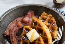 Breakfast - Pancakes, waffles & sweet breakfast foods / by Annika Yerushalmy