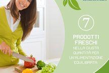 Le regole del benessere / Le 7 regole del benessere: i nostri distributori Frescobenessere per la salute dei nostri clienti.