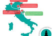 GIROVAGANDO con Puntodock / Tappe ed esperienze puntodockiane in giro per l'Italia (e non solo)