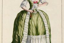 18th century: Green