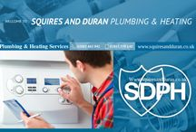 PLUMBING & HEATING / Squires And Duran Plumbing & Heating is a London plumbing and heating business that has been there for several years, catering for homeowners and commercial properties alike. We have your all minor to major plumbing and heating concerns covered.