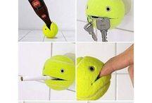 Tennis Ball Crafts