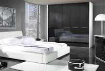 Białe sypialnie / White bedrooms / #sypialnia #bedroom #białasypialnia #whitebedroom #łóżko #bed #materac #mattress