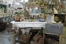 Booth vignettes / by Vintage Ralph Lauren Leather & Chic Not Shabby Cottage