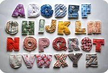 letters of the alphabet / by Cathie Hong