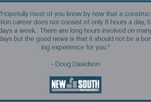 Doug Davidson Quotes / Inspiring quotes from Doug Davidson's Southern Polytechnic State University commencement speech.