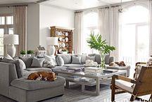 The House: Greige inspired living room
