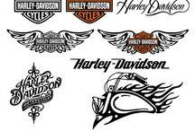 Zeichnungen / Harley