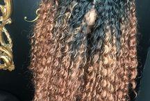 Crochet braids / Hair