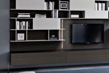 New TV Bench storage with libraries