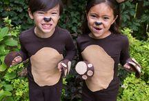 Woodland creatures (bear play)