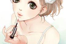 Filles Mangas~Anime. <3