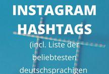 Instagram hashtages