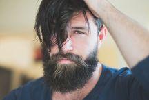 Barbas e cabelos