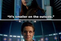 Doctor who  / Just doo wee doo'es snd some wibly woobly timey wimey stuff. You know ;)