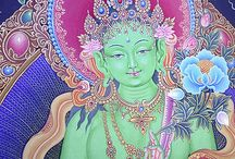 Tara / Buddhist thangkas