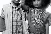 niños afro