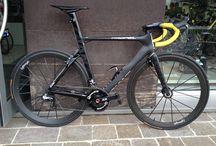 zwarte fiets