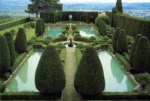 Italian Gardens / Italian gardens I love to visit include: Villa Gamberaia, Villa Lante, Villa d'Este, Villa I Tatti, Villa Farnese (Caprarola) and Villa la Pietra