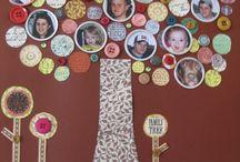 Crafts:  Family Tree