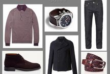 What to wear for dating - capsule wardrobe for men / A capsule wardrobe of items for dating and suggestions of how to put them together and where to wear them.