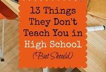High School Life Skills / Prepping high school students for life after high school.  Resources, lesson plans, and ideas for everything from making (and saving) money, interviewing skills, life on your own, and more.