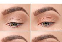 Dymový očný makeup