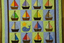 Baby boy quilts / by Kathy Mailloux