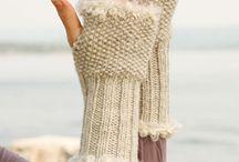 mitaine tricot