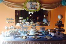 Mesa de dulces / Tema cabAllito